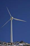 Molino de viento eléctrico imágenes de archivo libres de regalías