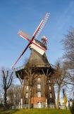 Molino de viento en Bremen Imagen de archivo libre de regalías