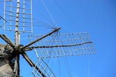 Molino de viento en Formentera Fotografía de archivo libre de regalías