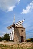 Molino de viento en Francia foto de archivo