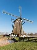 Molino de viento en Holanda Foto de archivo libre de regalías