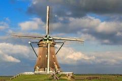 Molino de viento en los Países Bajos Foto de archivo