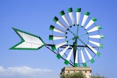 Molino de viento en Majorca Foto de archivo