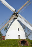 Molino de viento Heimsen Petershagen, Alemania fotos de archivo