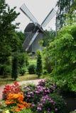 Molino de viento histórico fotografía de archivo