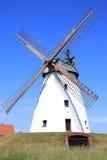 Molino de viento histórico en Baja Sajonia, Alemania Fotografía de archivo libre de regalías