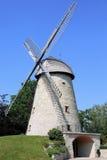 Molino de viento histórico en Ennigerloh, Westfalia, Alemania Foto de archivo