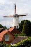 Molino de viento histórico, llamado De Hope Imagen de archivo