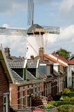Molino de viento histórico, llamado De Hope Fotos de archivo