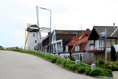 Molino de viento histórico, llamado De Hope Foto de archivo