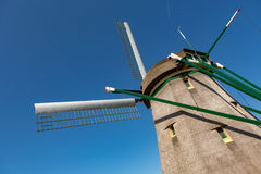 Molino de viento holandés Imagen de archivo libre de regalías