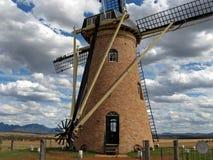 Molino de viento holandés en Australia imagen de archivo libre de regalías