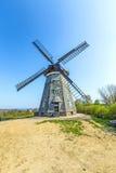 Molino de viento holandés en Benz Fotos de archivo libres de regalías