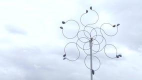 Molino de viento inusual 006 almacen de video