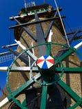 Molino de viento; Kinderdijk, Holanda fotografía de archivo