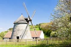 Molino de viento, Kuzelov Imagen de archivo libre de regalías