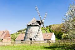 Molino de viento, Kuzelov Fotos de archivo