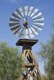 Molino de viento occidental imagen de archivo libre de regalías