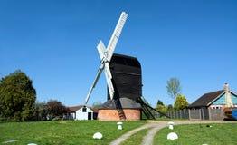 Molino de viento de Outwood Surrey, Reino Unido Construido 1665 imagenes de archivo