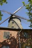 Molino de viento Ovenstaedt Petershagen, Alemania Fotos de archivo libres de regalías