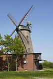 Molino de viento Ovenstaedt Petershagen, Alemania Fotos de archivo
