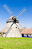 Molino de viento, República Checa Imagenes de archivo
