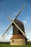 Molino de viento restablecido fotografía de archivo libre de regalías