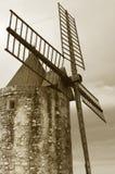 Molino de viento retro Imagen de archivo libre de regalías