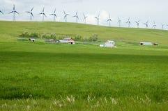 Molino de viento Ridge Imágenes de archivo libres de regalías