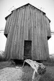 Molino de viento rumano viejo Imágenes de archivo libres de regalías