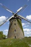 Molino de viento Seelenfeld (Petershagen, Alemania) imagen de archivo