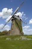 Molino de viento Seelenfeld (Petershagen, Alemania) fotos de archivo