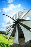 Molino de viento tradicional fotos de archivo