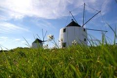 Molino de viento tradicional Foto de archivo