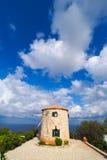Molino de viento tradicional griego en la isla de Zakynthos, en Keri C fotos de archivo