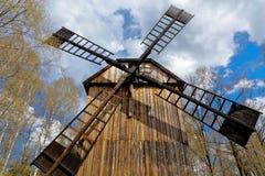 Molino de viento viejo Imagen de archivo