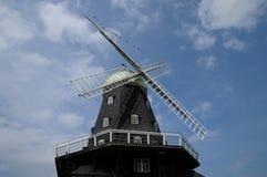 Molino de viento viejo e histórico de Sandvik Imagen de archivo
