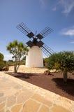 Molino de viento viejo en Antigua imágenes de archivo libres de regalías