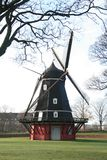 Molino de viento viejo en el Kastellet, Copenhague foto de archivo libre de regalías