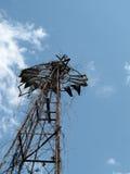 Molino de viento viejo hermoso 03 Fotografía de archivo libre de regalías