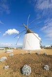 Molino de viento viejo tradicional Imagen de archivo libre de regalías