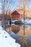 Molino del funcionamiento de Colvin, Great Falls, Virginia Foto de archivo libre de regalías