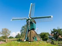 Molino del pólder en Tienhoven, Países Bajos Fotos de archivo