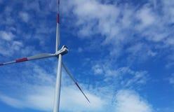 Molino eolico fotografia royalty free