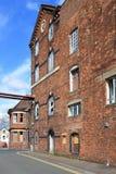 Molino harinero curativo averiado del ` s, Tewkesbury, Gloucestershire, Reino Unido fotografía de archivo
