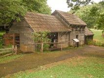 Molino histórico de Mabry en Virginia fotografía de archivo