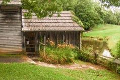 Molino histórico de Mabry en Virginia fotos de archivo libres de regalías
