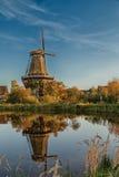 Molino holandés Imágenes de archivo libres de regalías