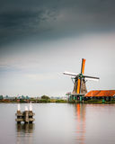 Molino holandés Fotografía de archivo libre de regalías