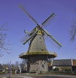 Molino holandés colorido del grano Fotografía de archivo